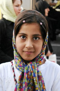 Iranian girl by DianeReiner