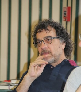 Mahmood Karimi-Hakak, Professor of Theatre Arts at Siena College, photo by Alice Brody
