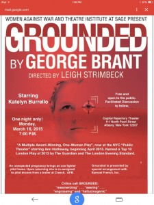 Grounded, March 16, 2015