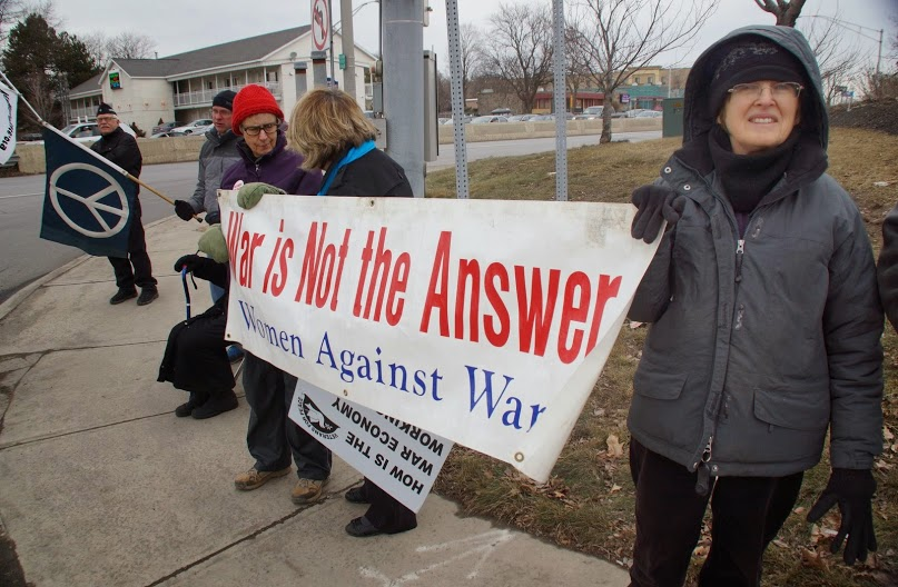 War is not the answer, photo by Jon Flanders