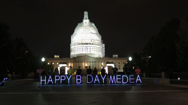 Happy Birthday, Medea, set up by Tighe Barry, September 10, 2015