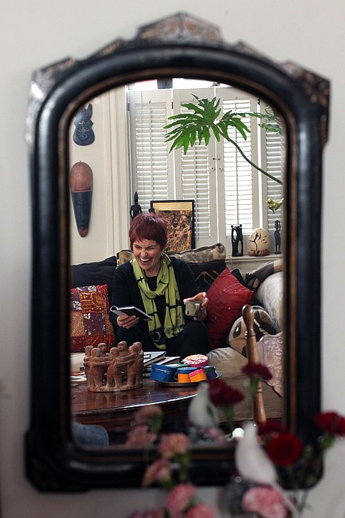 Mabel at home in 2011, photo by Daily Gazette