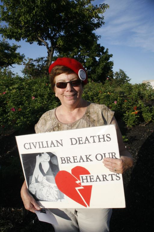 7 Civilian Deaths Break our Hearts, photo by Mabel
