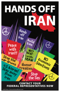 Iran Project, monthly meeting, Tuesday, November 19th at 1:30 PM Albany Friends Meetin @ Albany Friends Meetinghouse